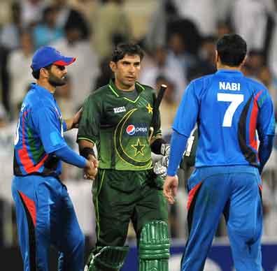 Misbah Ul Haq praised by Afghanistan