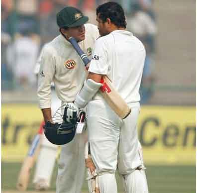 Sachin Tendulkar & Ricky Pointing