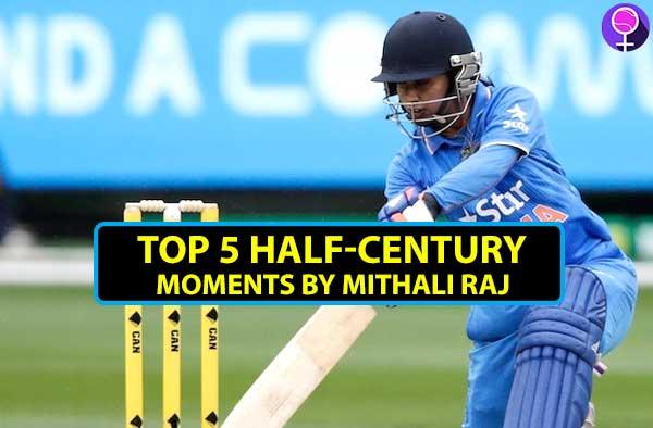 Top 5 half-century moments of Mithali Raj