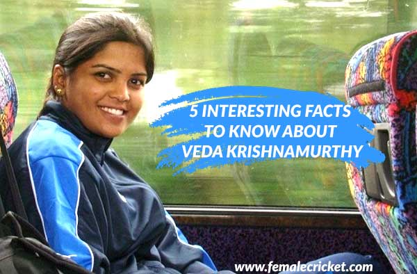 5 interesting facts to know about Veda Krishnamurthy