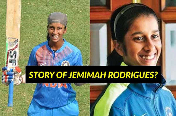 The rise and rise of Jemimah Rodrigues