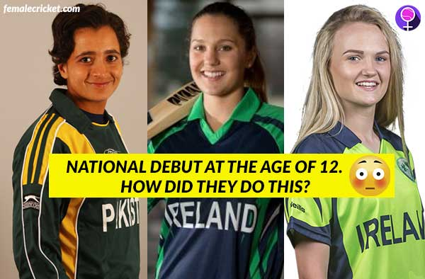 Here are 10 youngest female cricketers to debut for National Teams