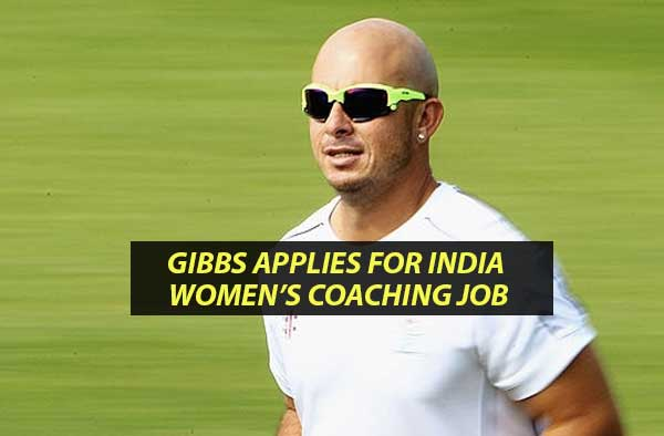 Herschelle Gibbs enters the running to become coach of the Indian women's cricket team