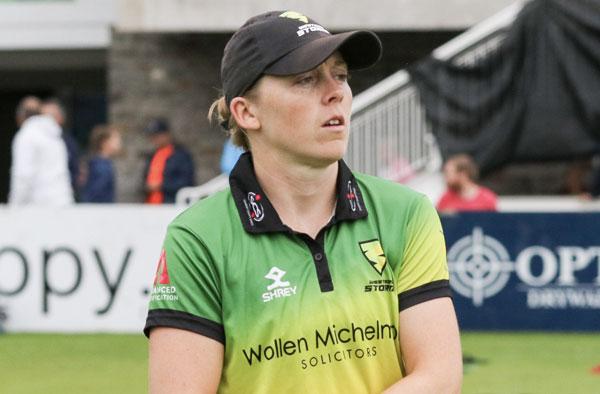 Heather Knight - Female Cricket