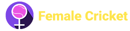 Logo Female Cricket