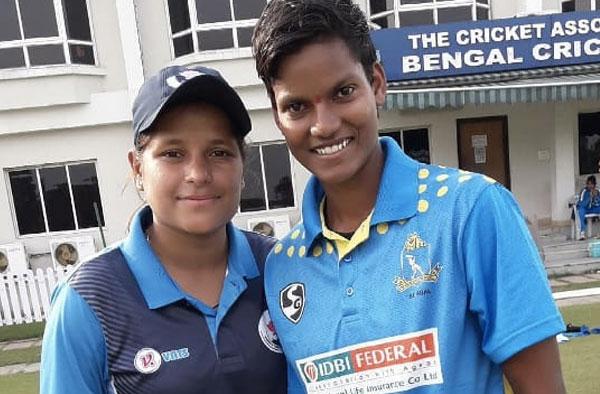 Nadia Chowdhary With Deepti Sharma