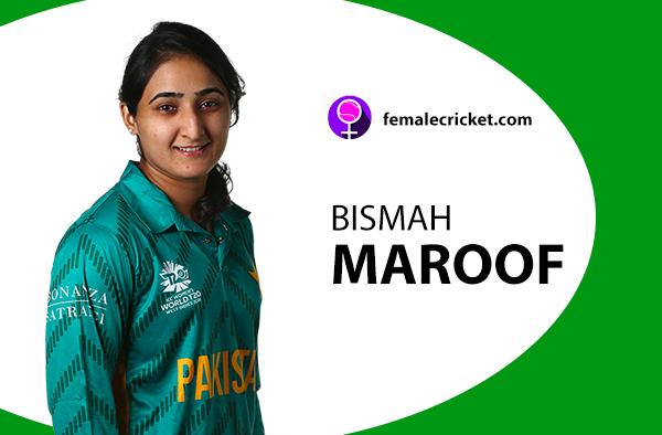 Bismah Maroof. Women's T20 World Cup 2020
