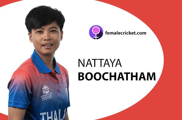 Nattaya Boochatham. Women's T20 World Cup 2020