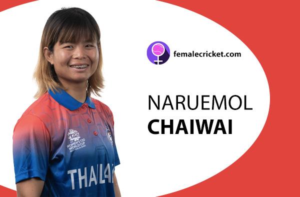 Naruemol Chaiwai. Women's T20 World Cup 2020