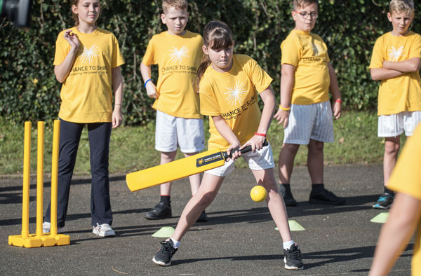 Chance to Shine Programme for girls