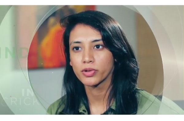 Smriti Mandhana joins hands with Whisper to break the period stigma. PC: Screengrab from Smriti Mandhana's Instagram Video