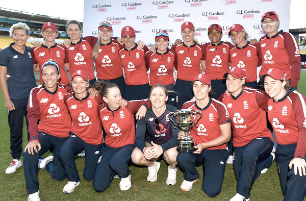 England Women's Cricket Team complete a 3-0 T20I Series Victory against New Zealand
