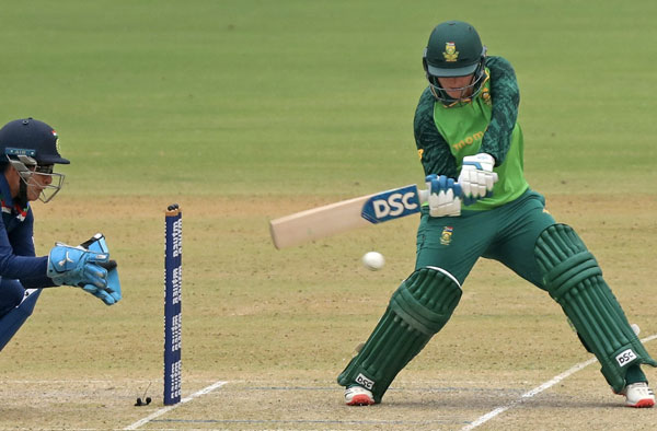 Lizelle Lee in action. PC: Cricket South Africa / Twitter